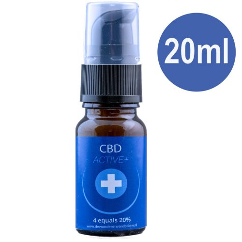 CBD Active+ 20 ml 20 procent Blue